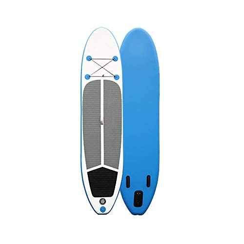 InChengGouFouX Tabla De Sup Hinchable Unisex Adultas Stand-up Paddle Board 10.6 pies de al Tricolor Herramientas Completas Touring Ligero Y Duradero (Color : Blue, Size : 320x76x15cm)