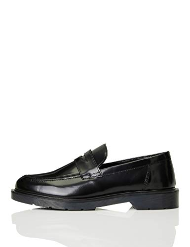 find. Cleated Penny Loafer Mocassino, Nero (Black), 43 EU