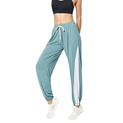 WAEKQIANG Pantalones Deportivos Deportivos para Correr para Correr para Mujer con Bolsillo Pantalones Deportivos para Mujer Pantalones para Correr Suaves