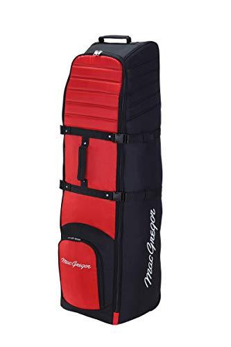 MACGREGOR VIP II TRAVEL Cover Reisetasche, schwarz/rot, Einheitsgröße