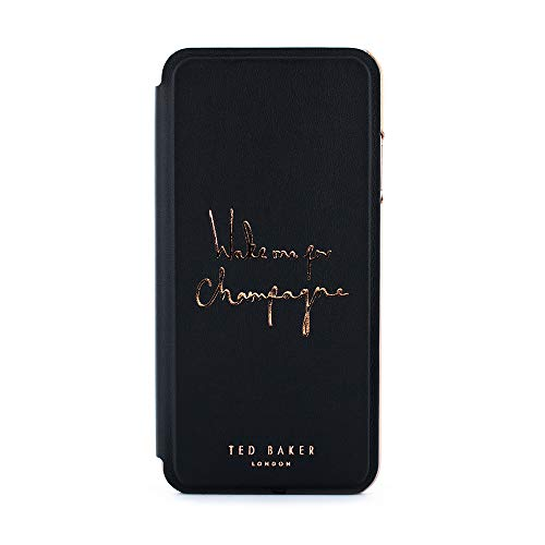 Ted Baker® Champagne Designer Folio Etui kompatibel mit Apple iPhone 8 Plus / 7 Plus (5.5
