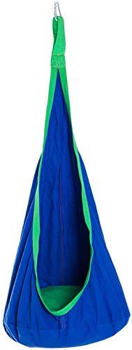 Tfsulengcl Swing Chair - Asiento Colgante con Hamaca para niños - Tienda de campaña para Espacio Interior al Aire Libre - Azul