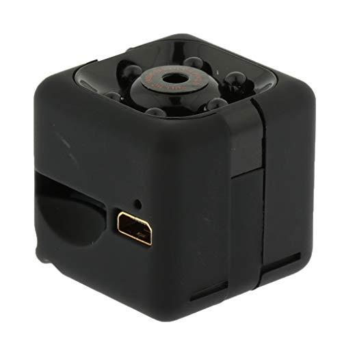 MagiDeal Cubo Portátil de La Videocámara DV de La Cámara Digital del Tamaño SQ11, Cámara de 6 Luces HD 720P