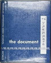 (Custom Reprint) Yearbook: 1960 Thomas Jefferson High School - Document Yearbook (Dallas, TX)