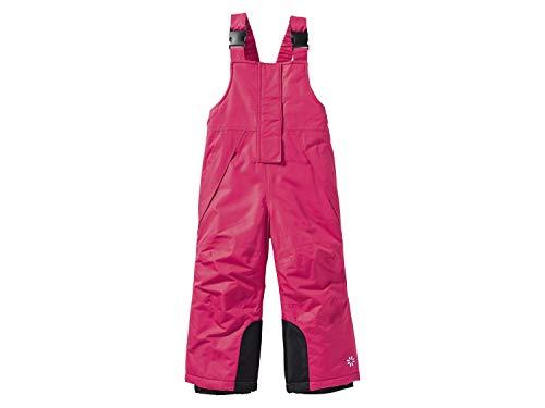 lupilu Mädchen Schneehose Skihose Winterhose Hose (Pink Latz, 86/92)