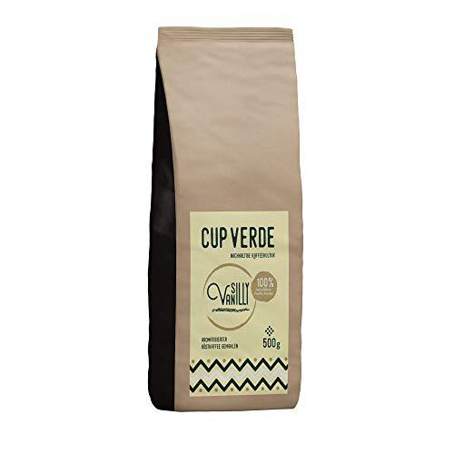 CUP VERDE Silly Vanilly Kaffee gemahlen 500 g mit natürlichem Aroma Vanille (Vanille)