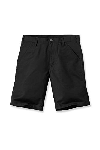 Carhartt Men Shorts Rugged Stretch Canvas, Farbe:black, Größe:W31