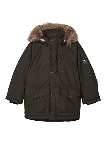 NAME IT Jungen NKMMIBIS Parka Jacket PB Jacke, Rosin, 116