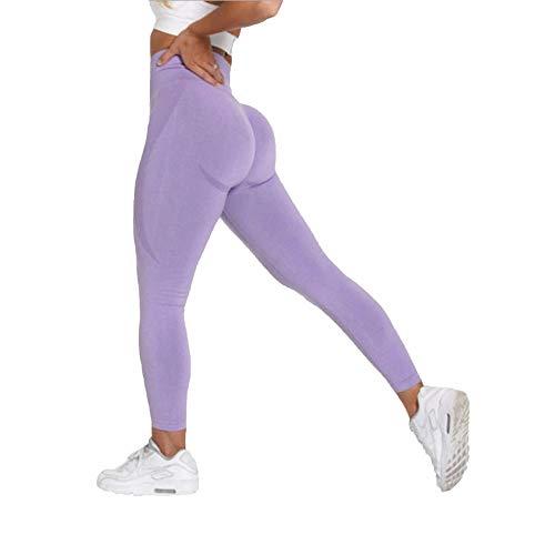 Micky Lee High Waist Seamless Leggings Push Up Leggins Sport Women Fitness Running Yoga Pants Energy Elastic Trousers Gym Girl Tights-12_S