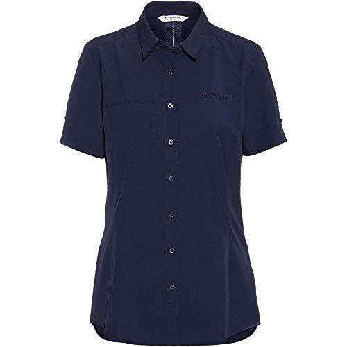 Vaude Damen Bluse Women's Rosemoor Shirt, Eclipse, 48, 41314