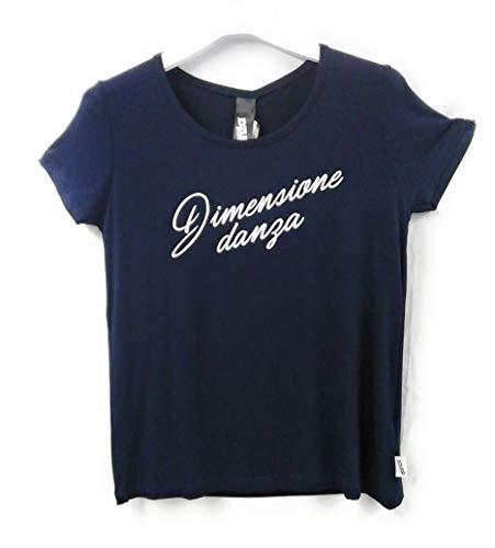 DIMENSIONE DANZA T Shirt Donna in Viscosa FIAMMATA 20EDD70417 Blu XS