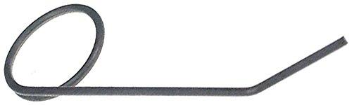 Pizza-Group Feder für Teigausrollmaschine P30, P40, P40A, P30T, P30TA, P40T, P40TA Drahtstärke 1,5mm ø 12mm EP vorne/hinten