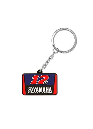 Valentino Rossi Yamaha Vinales-Racing, Key Ring Unisexe Adulte, Multi, Unique