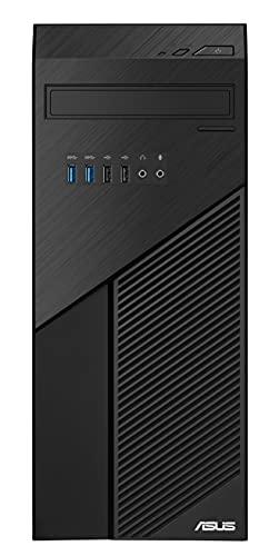 ASUS S425MC-R5240G020T – Desktop da 20 L (Ryzen 5 2400G, 16 GB RAM, 512 GB SSD, Windows 10 Home) nero – Tastiera QWERTY spagnola