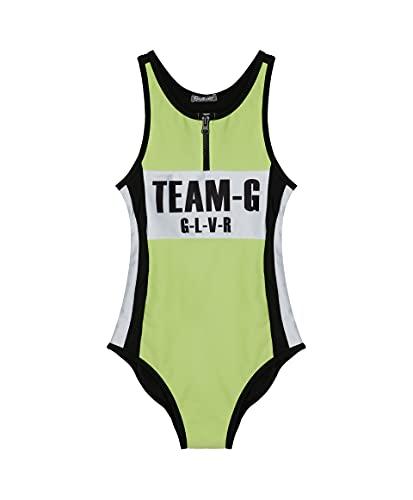 GULLIVER Bañador de Una Pieza para Teen Niña Multicolor con Estampa, Swimwear para 9-14...