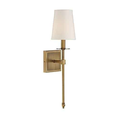 Savoy House 9-302-1-322 Monroe 1-Light Sconce in Warm Brass
