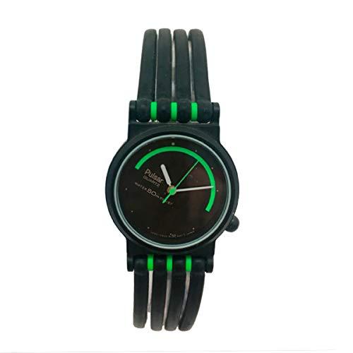 Pulsar Reloj Analog-Digital para Womens de Automatic con Correa en Cloth S0317280