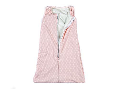MASHO Saco de Dormir para Bebe Tipo Nido, con Forro de Flannel Muy calientito, Rosa Pastel 4 a 12 Meses…