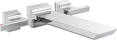 Delta Faucet T5799-WL Pivotal Wall Mount Tub Filler Trim, Chrome