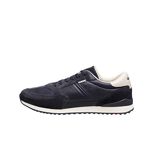 LLOYD Herren Sneaker ELLARD, Männer Low-Top Sneaker,lose Einlage,Men's,Men,Man,Halbschuh,strassenschuh,schnürer,Freizeit,Navy/Marine,42.5 EU / 8.5 UK