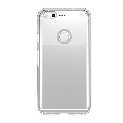 Speck Products Presidio Clear Cell Phone Case for Google Pixel - Clear/Clear