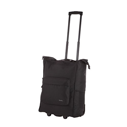 Rada ER/4 – großer Einkaufstrolley mit 35 Liter Volumen, Einkaufswagen, Handwagen, Einkaufstasche mit Rollen, Einkaufsroller, ausziehbarer Griff, robust und wasserabweisend