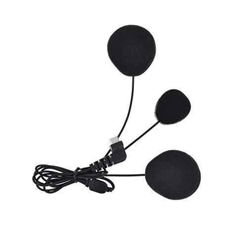 QSPORTPEAK Micrófono Auricular Cable Suave Auricular Accesorio para BTS2 y BTS3 Serie...
