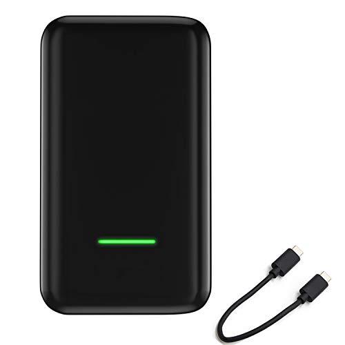 Ousyaah Wireless CarPlay Activator para Automóviles con Cable de fábrica CarPlay, Convierte CarPlay con Cable en CarPlay Inalámbrico Type-C Dongle para Audi/Benz, Compatible con iOS 10 o Superior