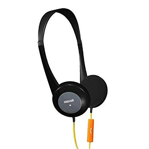 Maxell 195004 Action Kids Headphone with Microphone Black