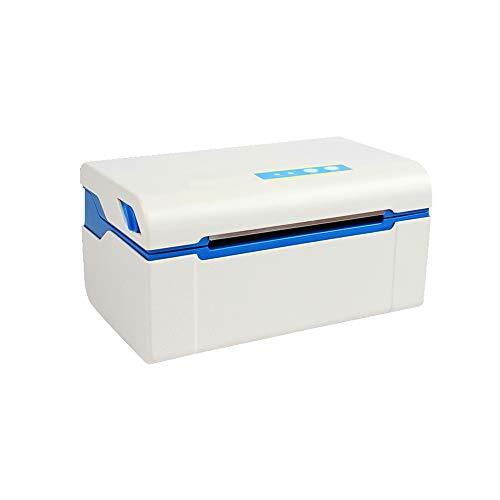 Imprimante thermique avec réception et touches tactiles Fonction d'impression en continu, Multifonction USB Label machine Vitesse 200mm / S
