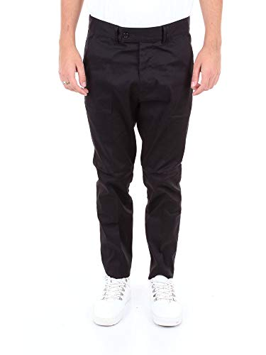 Mauro Grifoni Luxury Fashion Herren GE14001015BLACK Schwarz Elastan Hose | Jahreszeit Outlet