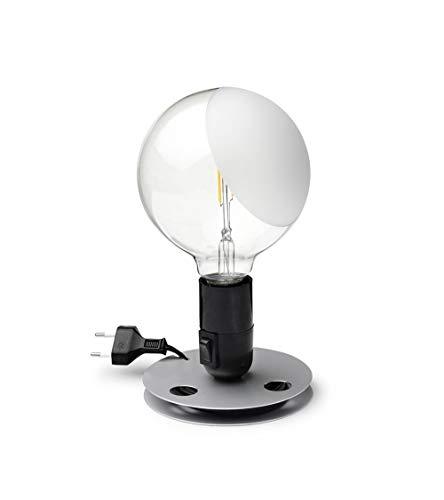 Flos Lampadina LED Lampada da Tavolo Nero F3300000