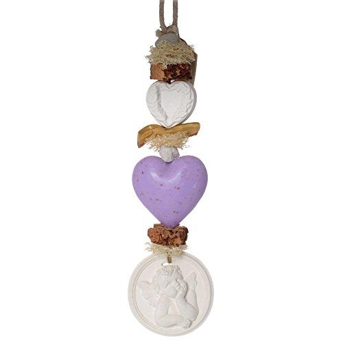 La Savonnerie de Nyons - Dekorations-Hänger, Gipsfiguren, Seife Lavendel