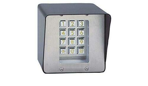 For Sale! Liftmaster MK500GS MINIkey - Self-Contained Keypad System for Door Gated Entry