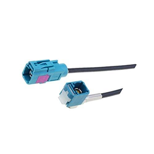 ZRS-FAKRA.F/F90.06 Rallonge d'antenne Fakra socle,Fakra socket angulaire 6m 4CA