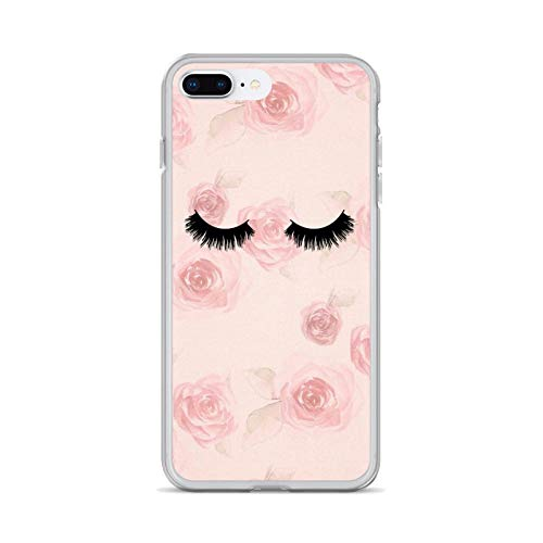 eyelash Pattern Girls Makeup Soft Cases Cover For iPhone iPod Touch 11 12 Pro 4 4S 5 5S SE 5C 6 6S 7 8 X XR XS Plus Max 2020-images 7-For iPhone 5 5S SE