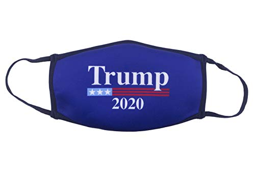 FUNATIC Donald Trump 2020 Novelty Face Cover | Make America Great Again Unisex Republican Vote Clothing | Original GOP American Patriot Gift Apparel for Men Women | KAG Election Voter Accessory