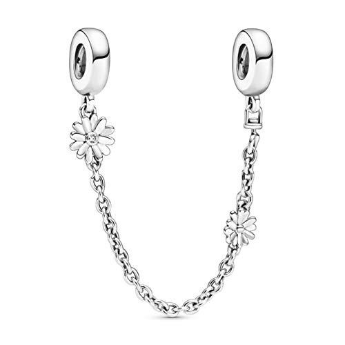 Daisy - Cadena de seguridad para pulseras con bolsa de regalo