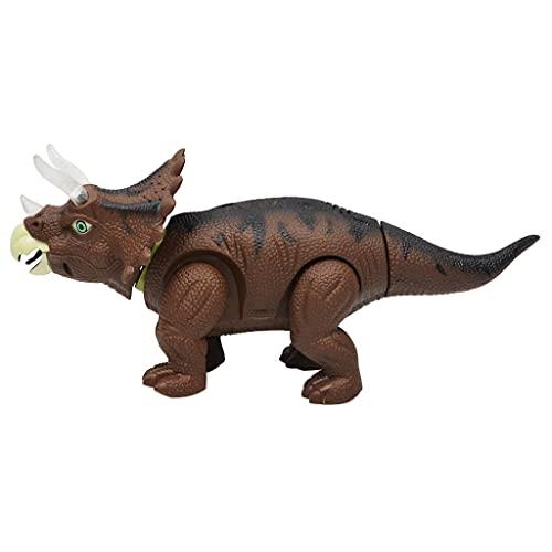 NC NC Proyección Ligera Parpadeando en El Huevo de Laicos Dinosaurios Triceratops Juguete Caminando Y Rugido