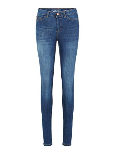 Noisy may Female Skinny Fit Jeans NMLUCY Normal Waist 3030Dark Blue Denim