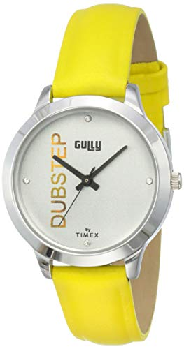 Gully by Timex Hip-hop Analog Silver Dial Women's Watch-TW000T625