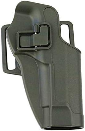 X-Baofu, Juego de pistola táctica de funda oculta for G17 M92 M1911 P226 Funda universal de cintura Funda de extracción rápida Funda de bloqueo Funda de ruger Funda de funda ( Color : M92 Army Green )