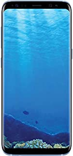 Samsung Galaxy S8, 64GB, Coral Blue - Fully Unlocked (Renewed)