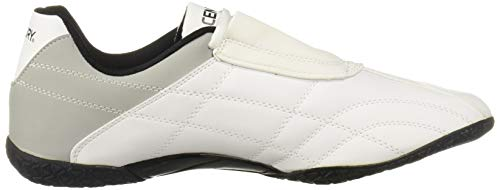 Century Lightfoot Martial Arts Shoes, White, Size 10