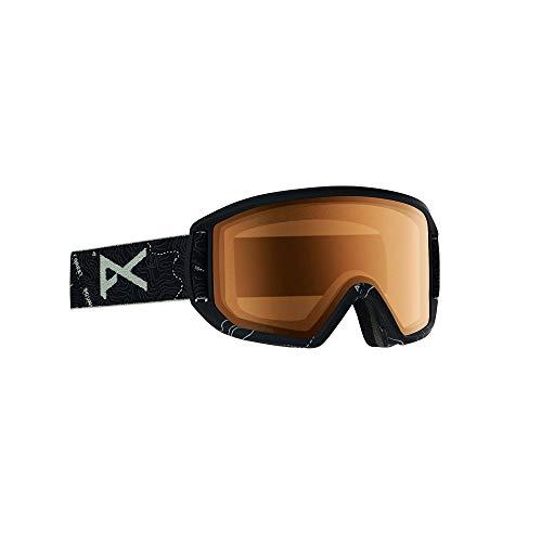Burton Relapse Gafas de Snowboard, Hombres, Topo Black/Sonarnight