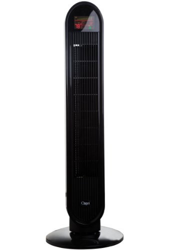Ozeri 360 Oscillation Tower Fan, with Micro-Blade Noise Reduction Technology
