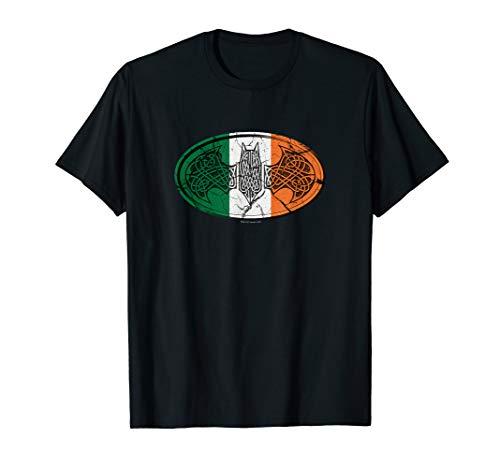 Batman Irish Celtic Symbol T-Shirt