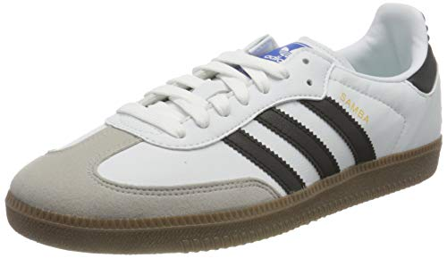 adidas Samba Vegan, Zapatillas de Atletismo Hombre, Ftwwht Cblack Gum5, 39 1/3 EU