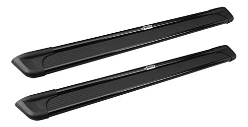 Westin 27-6135 Black Aluminum Step Boards for Trucks and SUV's 79'