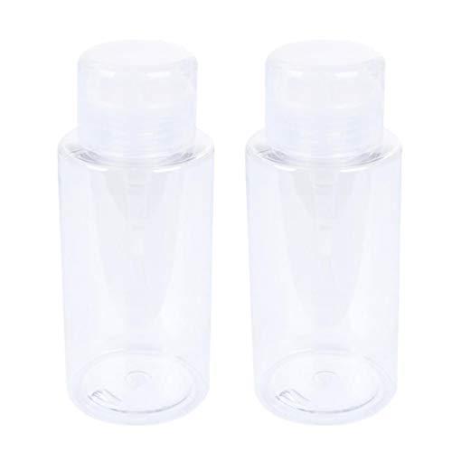 Beaupretty Pumpspender Leere Pumpflasche Kunststoff Seifenspender nachfüllbarer Reisebehälter für Shampoolotion 300ml